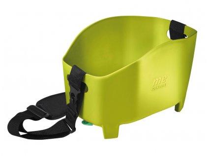 Koš na zadní nosič na kolo Racktime Me zelený 15l