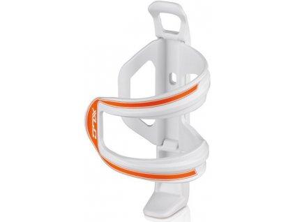 Boční držák na cyklo láhev XLC Sidecage bílá oranžová
