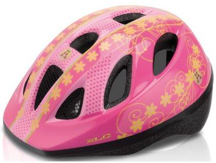 Dětská cyklistická přilba XLC BH-C16 pink XS/S (49-54cm)
