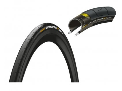 Plášť na kolo Continental Grand Prix GT skládací 28 700x28C 28 622 černá