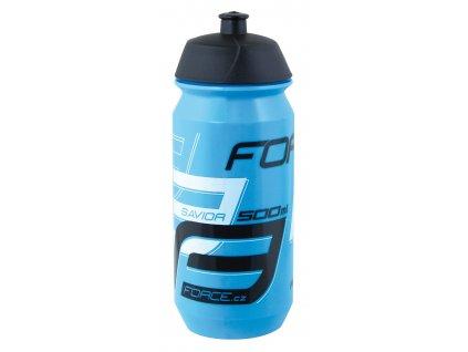 Cyklistická láhev FORCE SAVIOR modro černá 500 ml