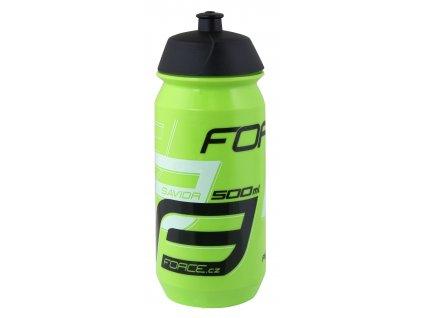 Cyklistická láhev FORCE SAVIOR zeleno černá 500 ml