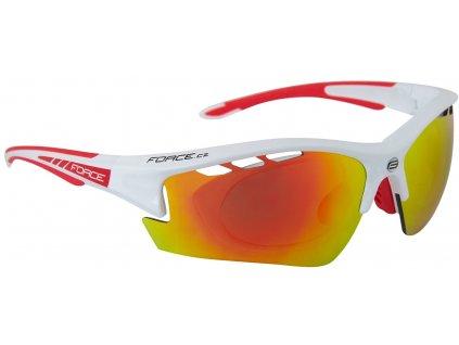 Cyklistické dioptrické brýle FORCE RIDE PRO bílé