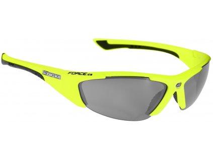 Dámské cyklistické brýle FORCE LADY fluo