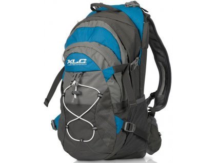 Cyklistický batoh XLC BA S48 šedá modrá 18 litrů
