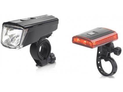 Sada osvětlení na kolo XLC Comp Titania přední a zadní světlo