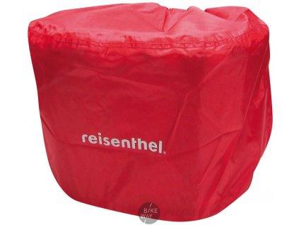 Pláštěnka pro košík Reisenthel Bikebasket červená