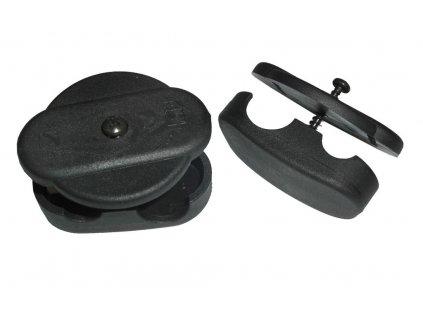 Klickfix KORBfix II pro připevnění hustě vypleteného koše na zadní nosič
