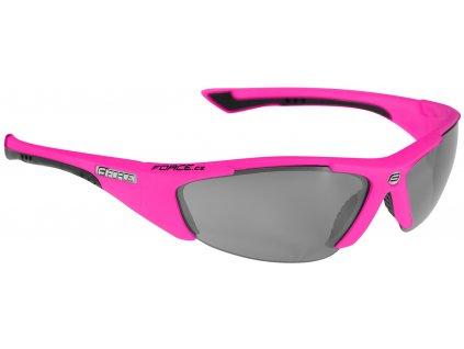 Dámské cyklistické brýle FORCE LADY růžové