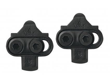 Zarážky kufry MTB FORCE FCP nášlapný systém černé