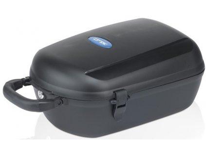 Plastový box na zadní nosič XLC Cargo Box BA B03 černý pro systém Carry more