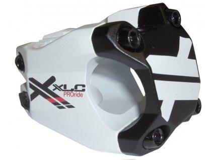 Představec XLC ST F02 Pro Ride bílý černý 31,8 mm 40 mm