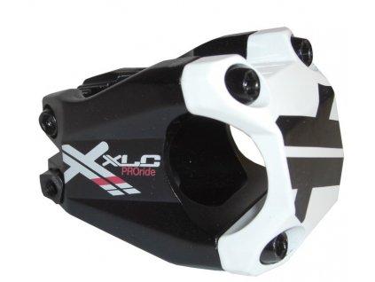 Představec XLC ST F02 Pro Ride černý bílý 31,8 mm 40 mm
