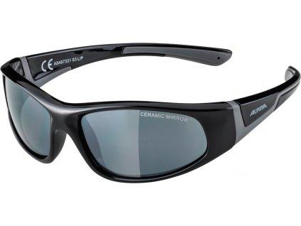 Dětské sluneční brýle Alpina Flexxy Junior S3 černé
