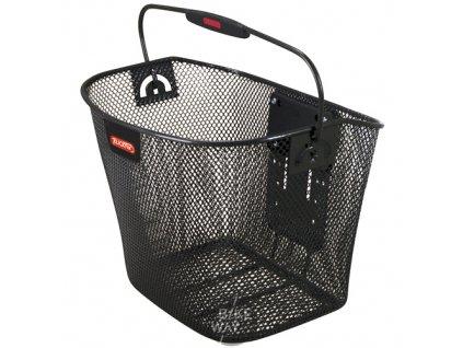 Košík na řídítka Rixen&Kaul Uni KLICKfix přední černý