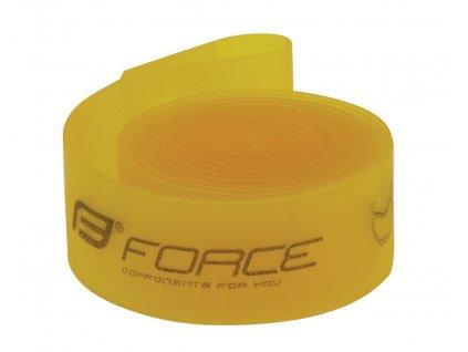 Páska na ráfek FORCE 26 559 18 žlutá 1ks
