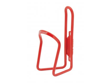 Košík na láhev FORCE KLAS červený hliníkový
