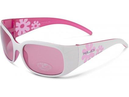 Dětské sluneční brýle XLC Maui SG K03 dívčí bílé růžové