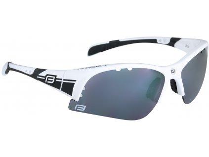 Cyklistické sportovní brýle FORCE ULTRA bílé černá