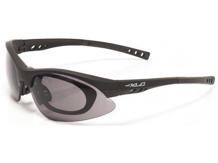 Cyklistické dioptrické brýle XLC Bahamas černé
