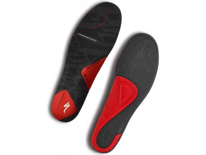 Vložky do treter Specialized BG SL FOOTBED RED