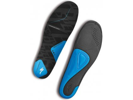 Vložky do treter Specialized BG SL FOOTBED BLUe