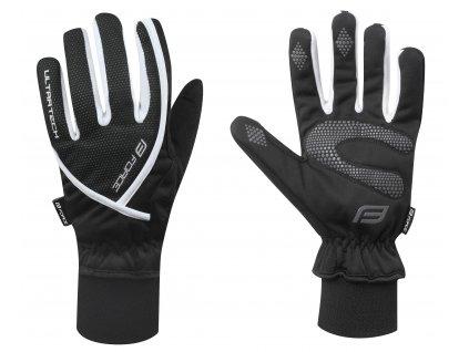 Zimní cyklistické rukavice FORCE ULTRA TECH