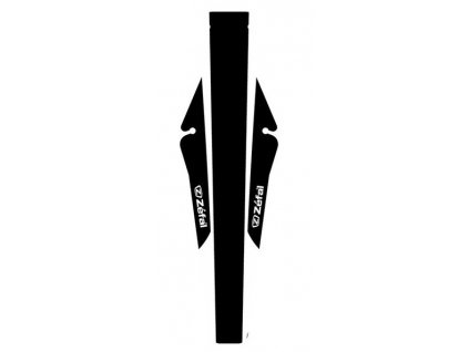 Zadní blatník na kolo Zéfal Shield Lite M bílý černý