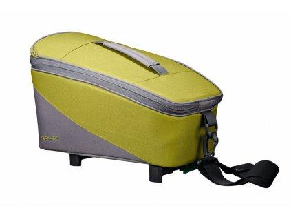 Brašna na nosič Racktime Talis zelená/šedá, včetně Snapit adaptéru