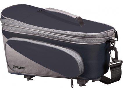 Systémová brašna na nošič Racktime Talis Plus černášedá včetně Snapit adaptéru