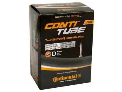 Duše Continental Tour 28 Hermetic Plus 28x1 1 4 1.75 32 47 622 635 velo v. 40mm