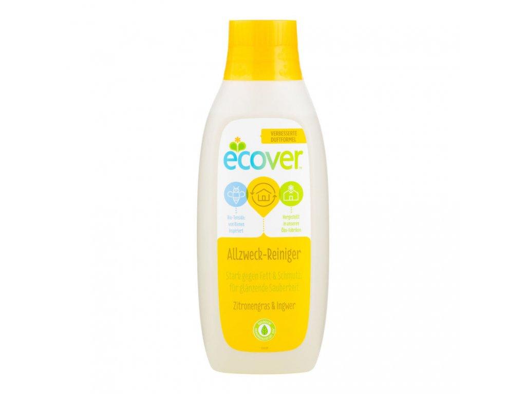 ECOVER univerzální čistič Citronová tráva a zázvor 750ml