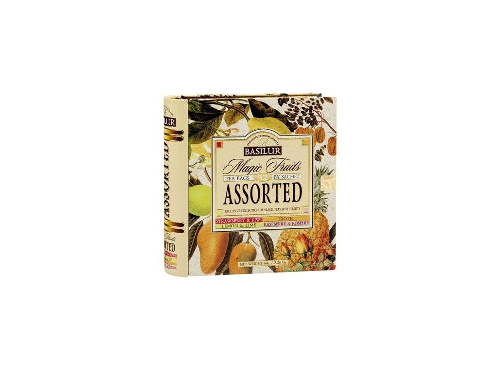 Čajová kniha - černé aromatizované čaje, 4 druhy 64g
