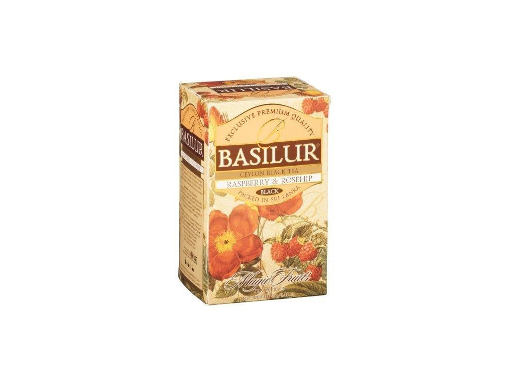 Čaj Magic Raspberry & Rosehip přebal 50g