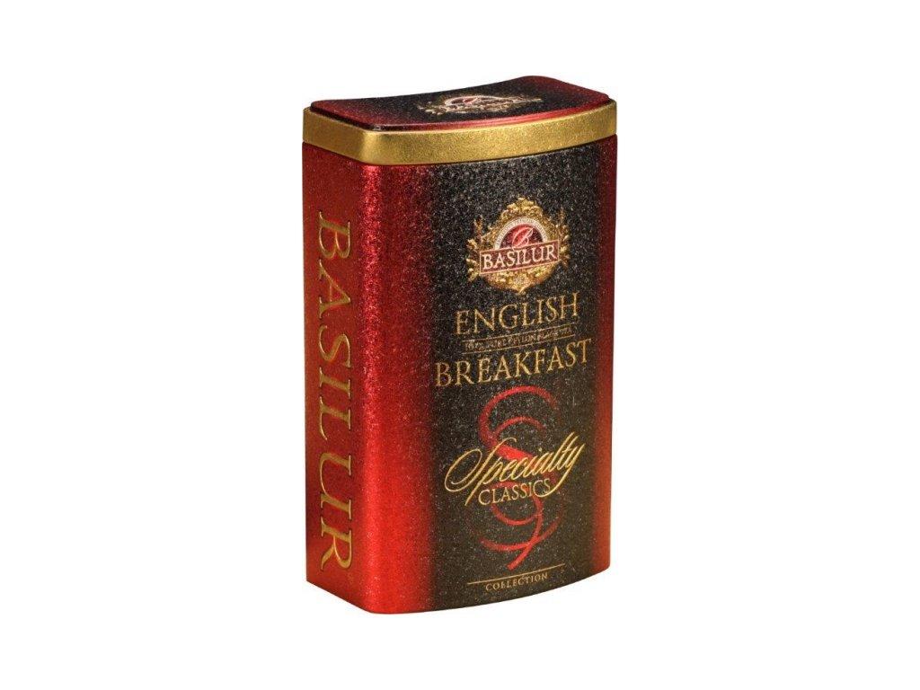 Čaj Specialty English Breakfast plech 100g