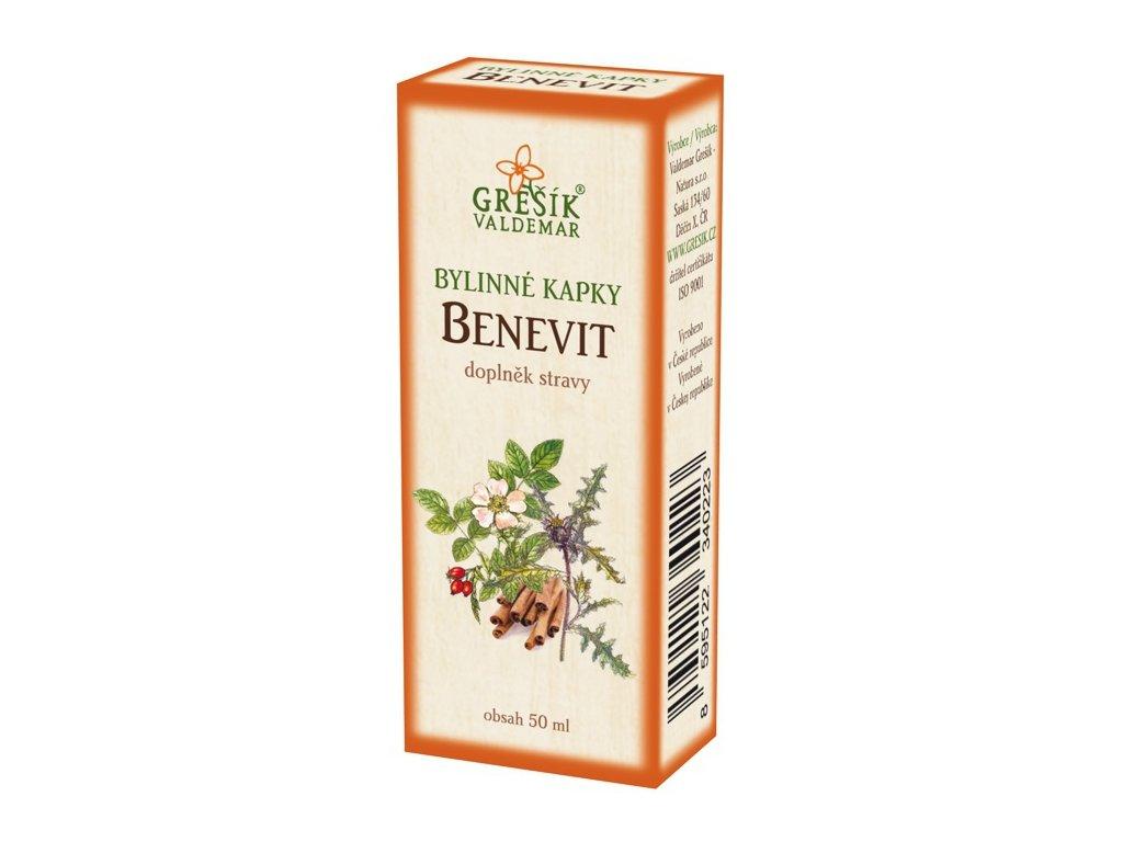 Benevit bylinné kapky 50ml
