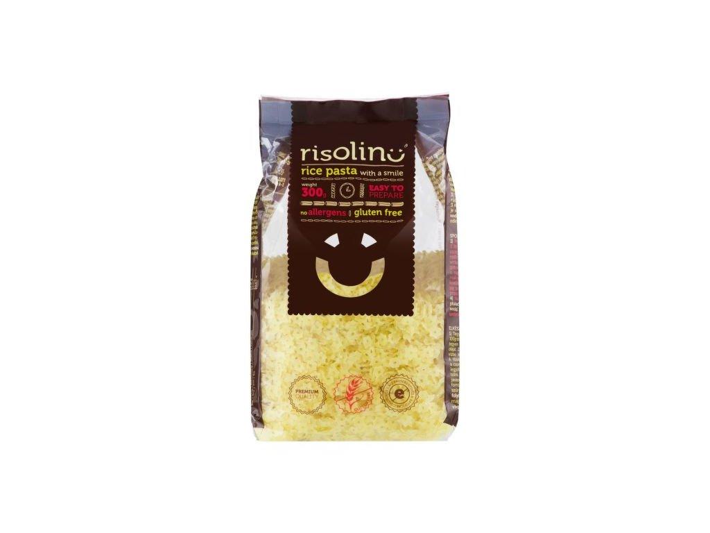 Těstoviny polévkové hvězdičky rýžové bezlepkové 300 g