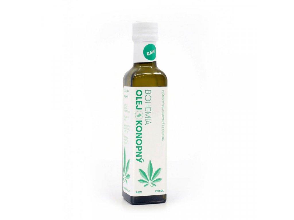 3946 bohemia olej konopny olej raw 250 ml