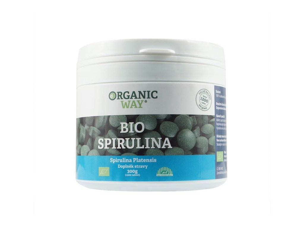 Bio Spirulina 300g tbl.1200