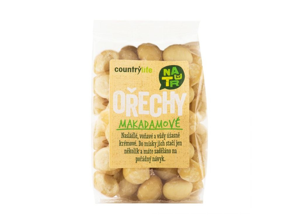 Makadamové ořechy 80g
