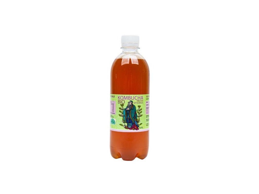 Kombucha meduňka 500 ml BIO STEVIKOM