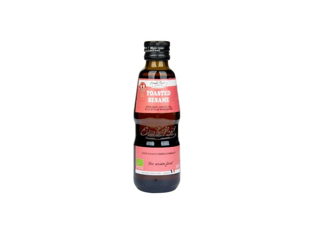 Olej z praženého sezamu 250 ml BIO