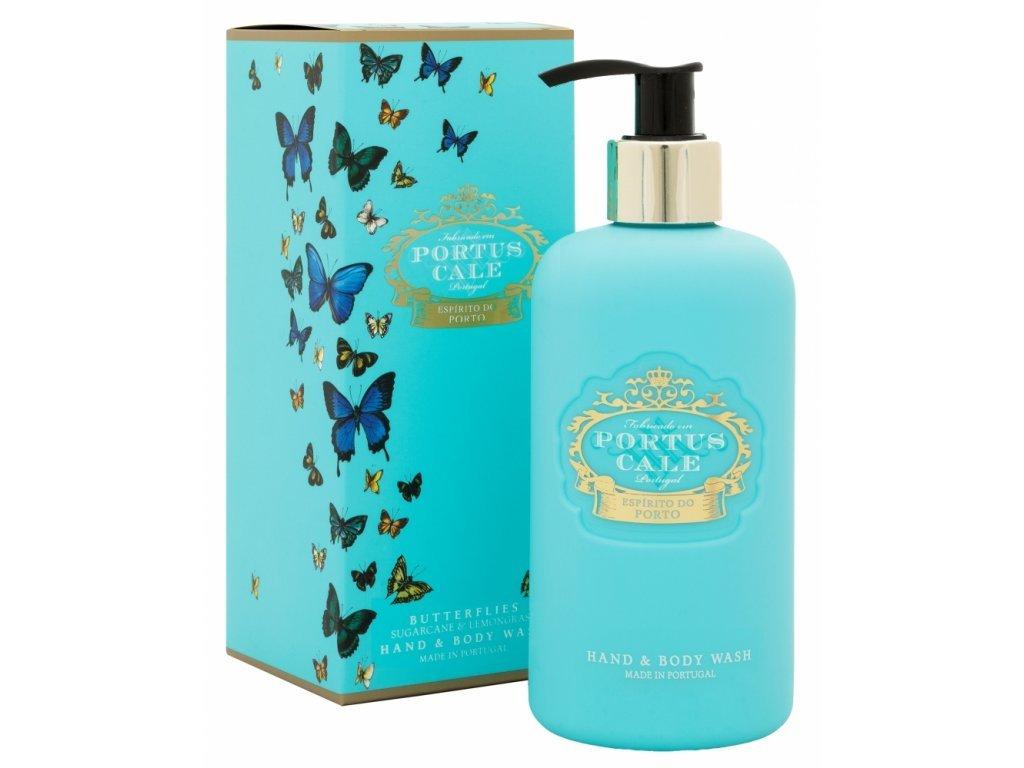 48741 castelbel myci gel na ruce a telo butterfly citrusy zimolez a magnolie 300ml
