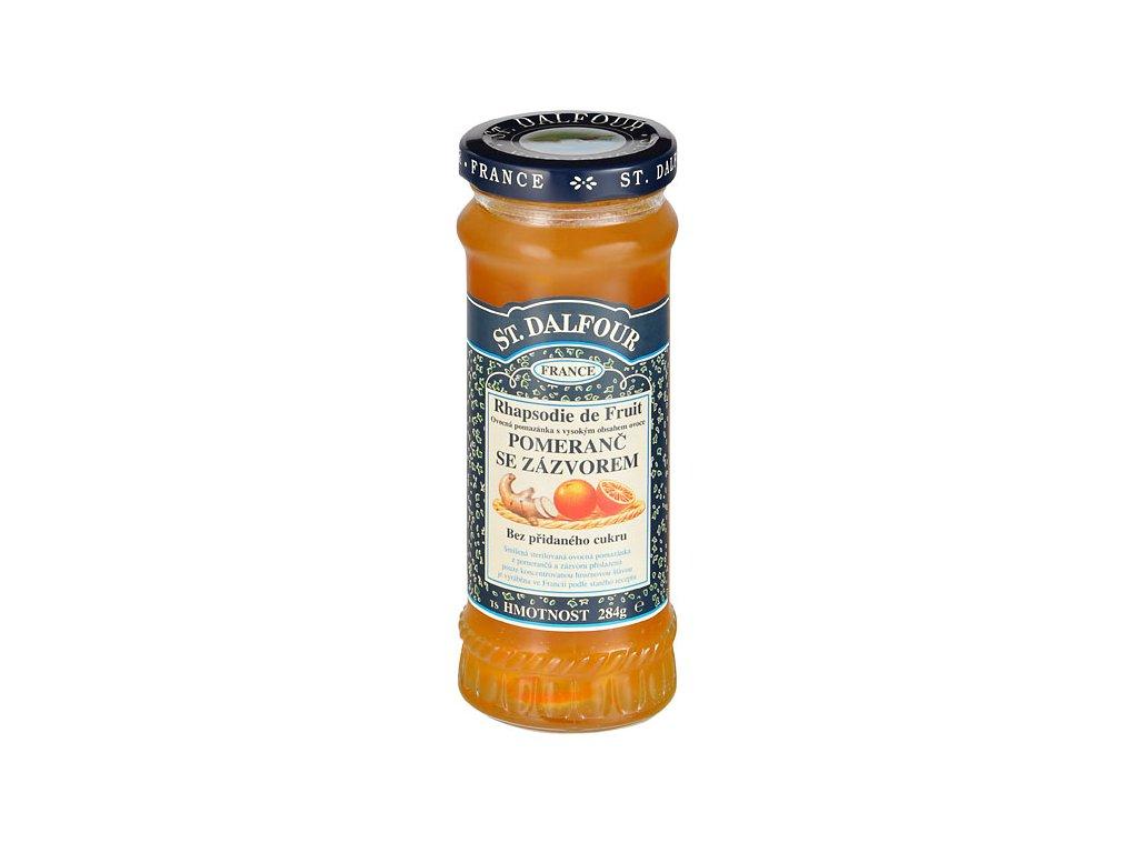 Džem ovocný pomeranč a zázvor 284g