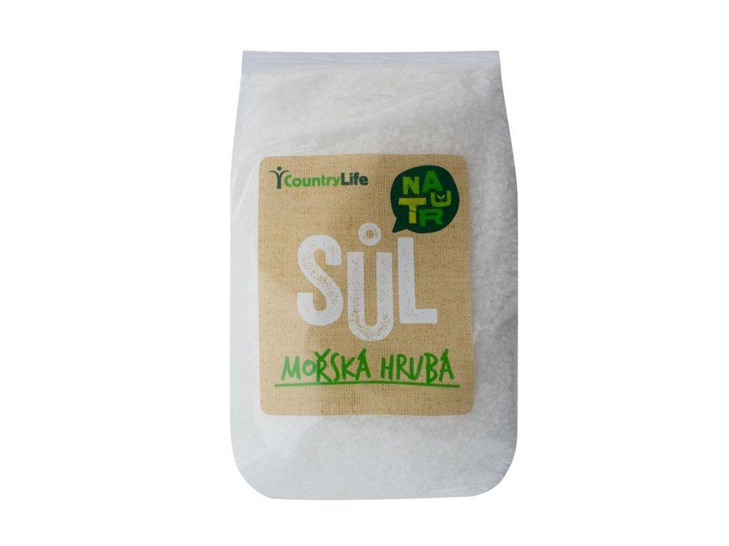Sůl mořská hrubá 1kg
