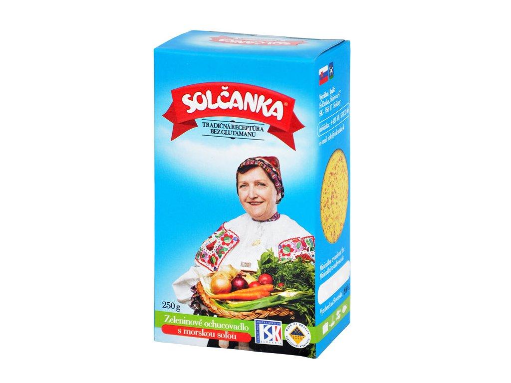 Solčanka s mořskou solí 250g
