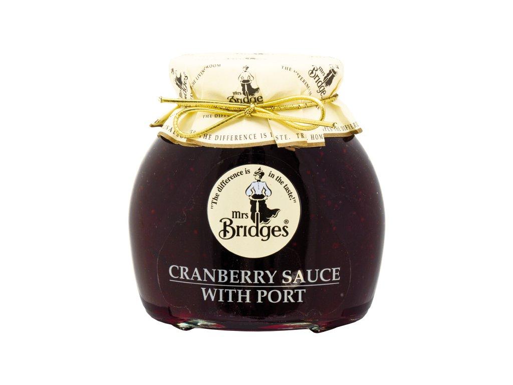 Zavařenina Brusinky s portským vínem