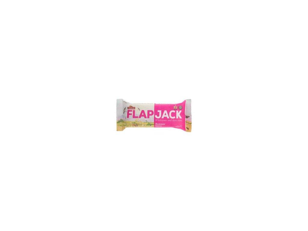 Flapjack ovesný malina-jahoda, bezlepkový 80g