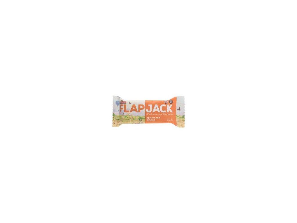 Flapjack ovesný meruňka-mandle, bezlepkový 80g