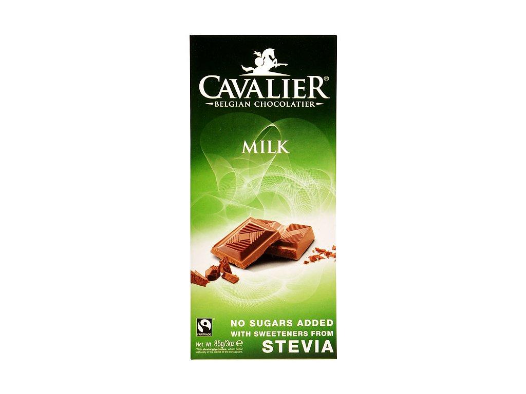Čokoláda mléčná se stévií 85g